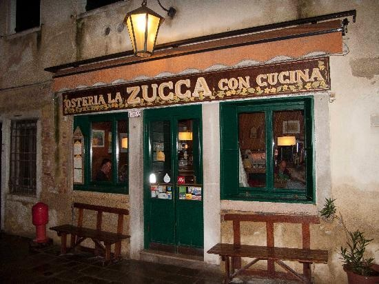 LA ZUCCA Osteria, Venice, Italy. Pumpkins&Co.